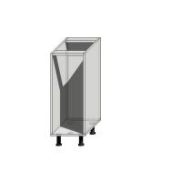 Корпус нижнего шкафа шириной 300мм под 1 бутылочницу