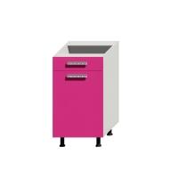 Корпус нижнего шкафа шириной 450мм под 1 узкий ящик и 1 дверцу