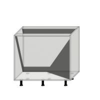 Корпус нижнего шкафа шириной 900мм под 2 ящика