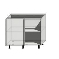 Корпус углового шкафа шириной 1000мм (950мм)
