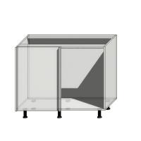 Корпус углового шкафа шириной 1050мм (1000мм)