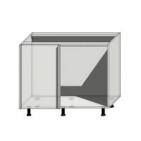 Корпус углового шкафа шириной 1100мм (1000мм)