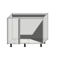 Корпус углового шкафа шириной 1200мм (1000мм) под 1 фасад