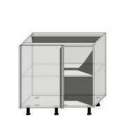Корпус углового шкафа шириной 900мм (850мм)