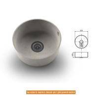 Интегрированная кухонная мойка OMEGA CLASSIC 410 из искусственного камня