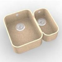 Интегрированная кухонная мойка OMEGA CLASSIC 752 из искусственного камня