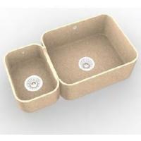 Интегрированная кухонная мойка OMEGA CLASSIC 778 из искусственного камня