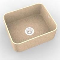 Интегрированная кухонная мойка OMEGA CLASSIC 871 из искусственного камня