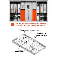 Набор для столовых приборов ORGA-LINE - H=1000 мм / L=450