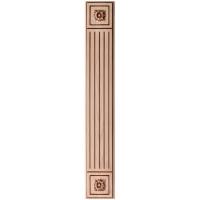 Фрезеровка 10 Эльба, пилястры МДФ в пленке ПВХ, любые размеры