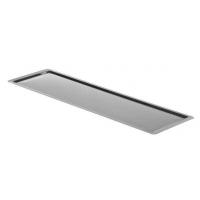 Поддон для посудосушителя в шкаф шириной 600 мм, нержавеющая сталь