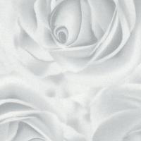 Роза белая, пленка ПВХ TM-433