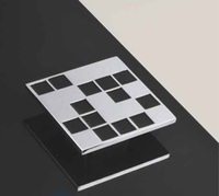 TM162032.C185 Ручка хром, черная эмаль, большая