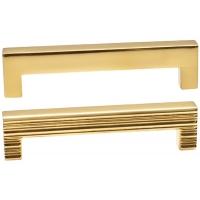 LIF.0140.A0OL1 Ручка-скоба 96мм, отделка золото глянец