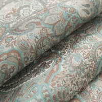 Мебельная ткань жаккард SANSARA Blue Topaz (Сансара Блю Топаз)