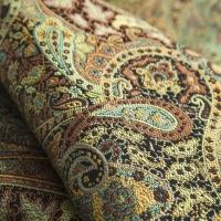 Мебельная ткань жаккард SANSARA Malachite (Сансара Малакайт)