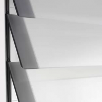"К-т стекол ""Климбер"", 900х650 мм, (5 шт.), матовый белый"