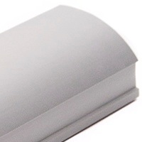 Серебро матовое, профиль вертикальный Анодированный QUADRO. Алюминиевая система дверей-купе ABSOLUT DOORS SYSTEM