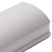Серебро матовое, профиль вертикальный Анодированный CLASSIC асимметричный. Алюминиевая система дверей-купе ABSOLUT DOORS SYSTEM