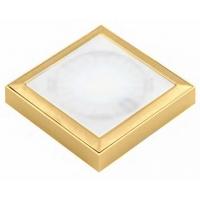 Светодиодный светильник SUN QuadroxT, накладной золото