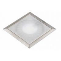 Светодиодный светильник SUN Quadro врезной сталь