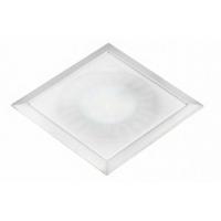 Светодиодный светильник SUN Quadro врезной алюминий