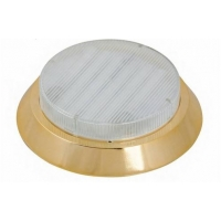 Люминесцентный светильник LD 5000 накладной золото