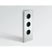 Блок розеток POWER WEDGE угловой (3 розетки), защитный экран - нержавеющая сталь