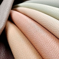 Мебельная ткань искусственная кожа SPIRIT Creme Brulle (Спирит Крем Брюлле)