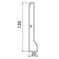 Цоколь Аризона полукруг 660x120x20 массив Италия