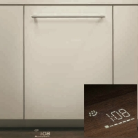 Установка посудомоечной машины с навеской фасада ( без подключения)