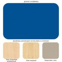 Делфт голубой (Морской синий дельт ) U 525 ST2 8мм, ЛДСП Эггер в структуре Диамант