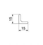 Уголок-буазери внутренний Этернити 2350х15х15