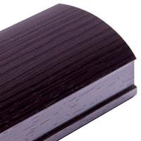 Венге, профиль вертикальный модерн KORALL. Алюминиевая система дверей-купе ABSOLUT DOORS SYSTEM