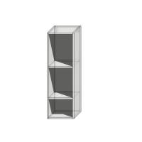Корпус верхнего навесного шкафа шириной 300мм высотой 960мм под 1 фасад