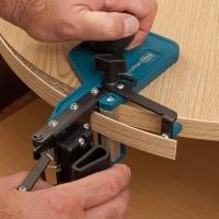 Стык кромок AБС-АБС для столешниц и замкнутых деталей