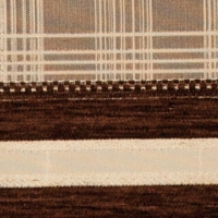 Мебельная ткань шенилл YAREN stripe chokolate(ЯРЭН Страйп Чоколэт)