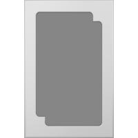 Фрезеровка 209 Зигзаг 2 коллекция Классик фасады Кедр