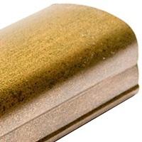 Золото Bergamo, профиль вертикальный фэнтези KORALL. Алюминиевая система дверей-купе ABSOLUT DOORS SYSTEM