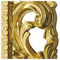 Зеркало ППУ прямоугольное R1076PA 750x950 золото 1 (эмаль)