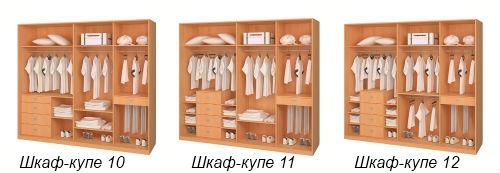 Дизайн внутри шкафов